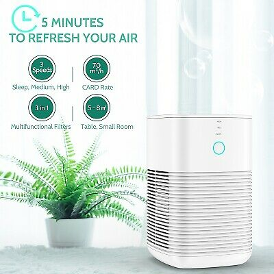 The BEST Air Purifier for Home Room Office - GBlife PM1232A Table