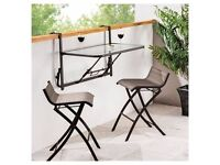 Balcony Table and Chairs/Stools