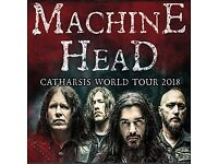 Machine Head 2 tickets o2 Academy Bristol