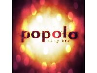 Popolo Newcastle | Part time bar staff needed!