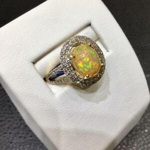 Ladies Gold Gem Stone Rings