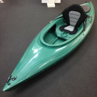 Sit in Kayak with Deluxe Backrest and Paddle