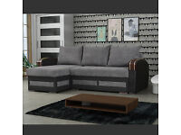 30 DAYS MONEY BACK GUARANTEED - BRAND NEW KEVIN CORNER SOFA BED - SPECIAL OFFER