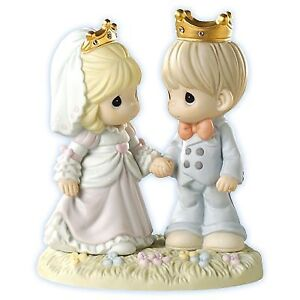 Precious Moments - Happily Ever After - Love/Wedding Figurine