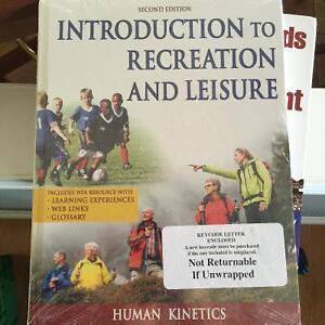 Introduction to Recreation and Leisure 2nd Edition Windsor Region Ontario image 1