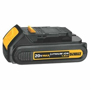 LIKE NEW Dewalt DCB201 1.5AH 20V Max Lithium Ion Battery