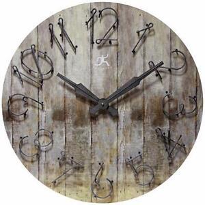 """24"""" Wall Clock by Laurel Foundry Modern Farmhouse NEW"""
