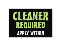 Regular Cleaner Required
