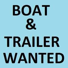 Boat WANTED for Fishing. Runabout, Tinny & trailer, FREE or Cheap Ramsgate Rockdale Area Preview