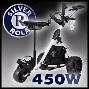 450W ELECTRIC GOLF BUGGY Motorised Trolley Caddy carry Bag Clubs Myocum Byron Area Preview