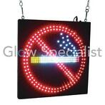 Led sign eurolite - no smoking