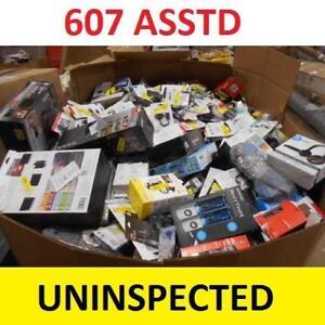 607 ASSTD CONSUMER ELECTRONICS - 133685708 - LOT MANIFEST UNINSPECTED