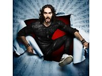 2 0r 4 tickets Russell Brand Re:Birth - A Stand Up tour 27/07/2017 19:00:00 Cliffs Pavilion