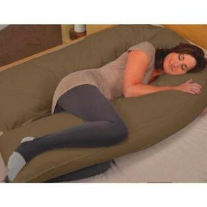 Pregnancy-Pillow-U-Shaped-Full-Body- & Maternity Support - contoured  - FREE SHIPPING