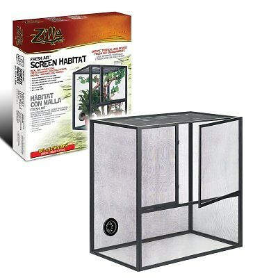 Zilla Fresh Air 18x12x20 Reptile Cage