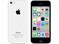 Iphone white 5C 8gb plus £- for iphone or samsung considered.