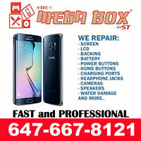 ★ ON SALE ★ SAMSUNG GALAXY S3, S4, S5, S6 PHONE SCREEN REPAIR !