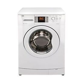BEKO 8KG WASHING MACHINE IN GOOD CLEAN WORKING ORDER FULLY REFURBISHED & PAT TESTED