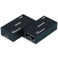 HDMI Extender up to 196ft. with Cat5e-CAT6 cables