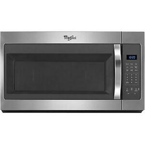 30-inch, 1.7 cu. ft. Over-the-Range Microwave Oven