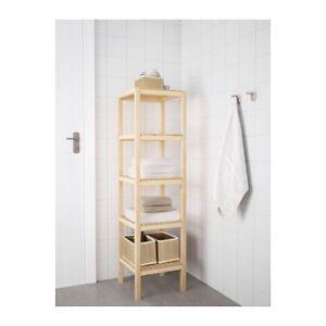 Ikea shelves Molger bathroom Mosman Mosman Area Preview