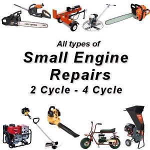 Small engine Repair and service.