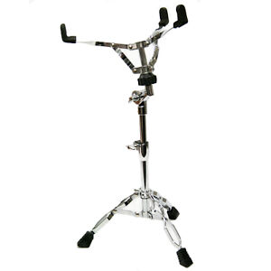 Selby Snare Drum Stand Chrome Double Braced Legs Height Adjustable