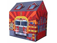 Charles Bentley Children's Fire Station Play Tent