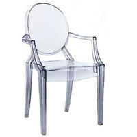 ghost chairs, chaises ghost, louis ghost