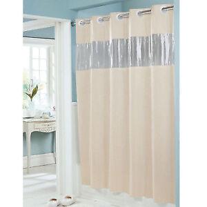 Hookless Shower Curtain 71 X 74 Vinyl Vision