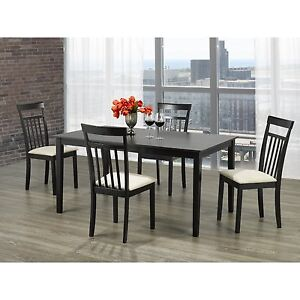 Snider Traditional Dining Table & Chairs (Brand New in Box)