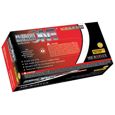Microflex Nitron One Light Powder Nitrile Gloves-XLARGE