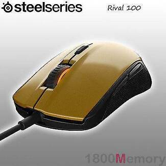 Steelseries rival100 gaming mouse