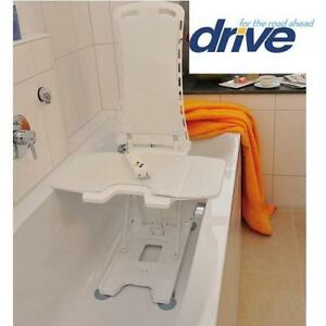 NEW DRIVE BATH TUB SEAT SEAT LIFT - 132820143 - BELLAVITA WHITE