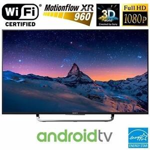Télévision DEL 55'' KDL-55W800C 1080p 3D 120hz Android TV Wi-Fi Sony - LED Television - BESTCOST.CA