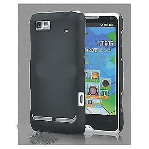 Hybrid Back Hard Case Cover Shell for Motorola XT615 & XT685 - A