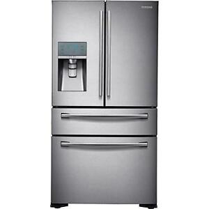36-inch, 23.61 cu. ft. Counter-Depth French 4-Door Refrigerator with Ice and Water Dispensing System