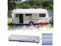 Caravan Awning - Caravanstore 255 Blue