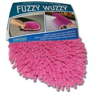 Wuzzies Micro Fiber Mitt Multi Purpose Double Sided Fringe And Micro Cloth