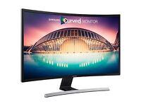 **New** Samsung 32in Curved LED Gaming Monitor 1080p VGA HDMI