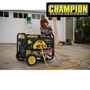 NEW* CHAMPION PORTABLE GENERATOR 100231 213158212 ELECTRIC START WHEEL KIT