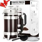 TOP-MAX with 5 - 8 Cups French Presses
