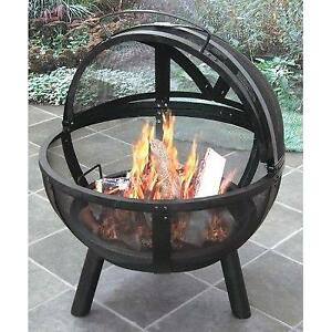 Yard Fire Pit. Great Ball of Fire !