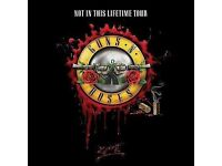 Guns N' Roses Not In This Lifetime Tour x2 Seated Tickets 16 June London