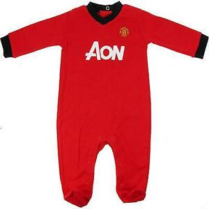 10329b720 Manchester United Baby Grow