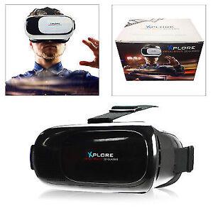 663c37026f80 XPLORE Virtual Reality 3d Smartphone VR Headset 360 Degree Vision ...