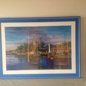 Coastal Picture in Blue Frame Enoggera Brisbane North West Preview