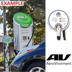 NEW ELECTRIC CAR CHARGING STATION - 130067133 - AV AEROVIROMENT ELECTRIC CAR 30A LEVEL 2 CHARGER HARDWIRED 25' CABLE ...