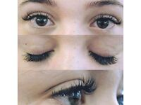 Eyelash extension one by one