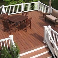 Outdoor staining! Protect your wood from weather damage
